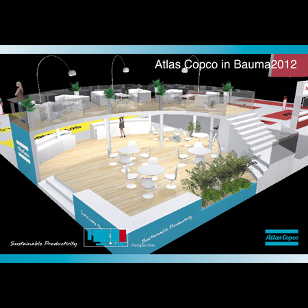 Atlas Copco in Bauma2012